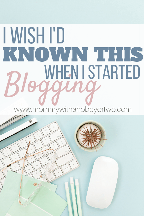 If you want to start a blog, take a peek at what I have learned since I started and hopefully it can help you too!