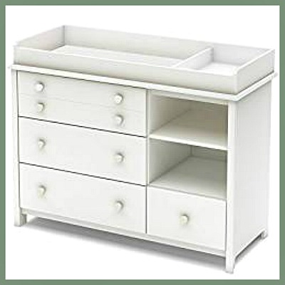 changing table dresser combo