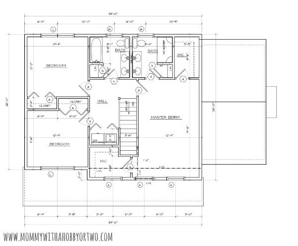 final floor plan second floor