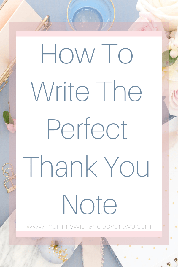 You don't have to struggle any longer to come up with the right words in you next thank you note. Use my template instead!