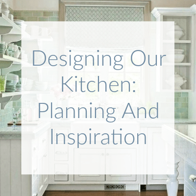 The perfect kitchen always starts with a plan. Here I share some of my favorite kitchens from Pinterest as inspiration for designing our new kitchen.