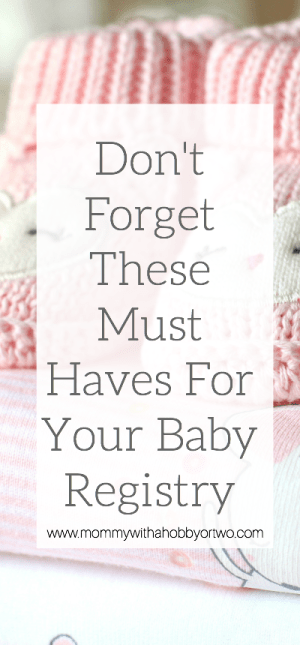 Anxious about prepping for a baby? I have put together a few of my favorite must haves for your baby registry that you might not have thought about yet.