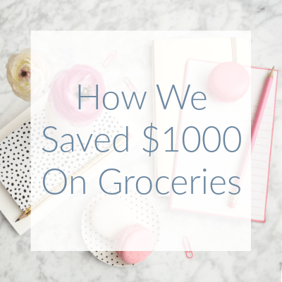 Before I started using the very simple tricks in Christine's meal planning program, we were spending $1200-$1500 on groceries and eating out but now, we spend about $500-$600 a month for our family of four.