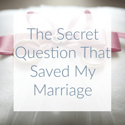 I was certain that my marriage was nearing it's end when I discovered that the problem with my relationship wasn't quite what I had expected.