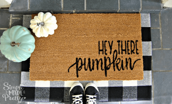 fall welcome mat