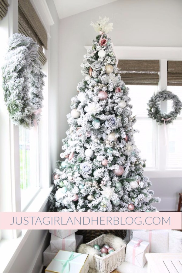 Just A Girl And Her Blog - Pastel Christmas Tree