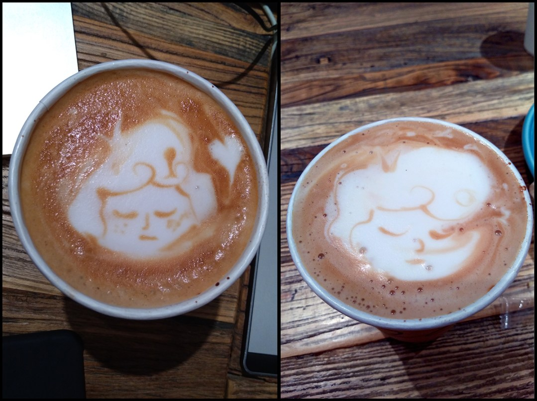 Random Coffee Art