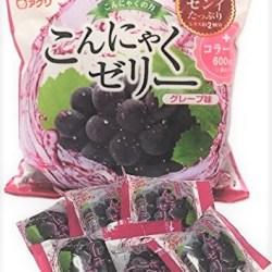 Japanese Konjac Jelly  Grape 6 packs
