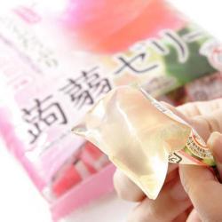 Japanese Konjac Peach Jelly content