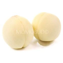 Japanese Shirobijin White Peach 2pcs