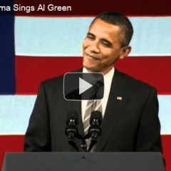 """President Obama: If We GOTV for You, Will You Sing """"Let's Stay Together"""" by Al Green on Inauguration Day, January 2013?"""