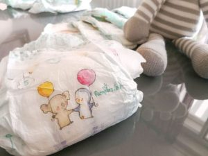 Pampers Baby Dry Windeltest
