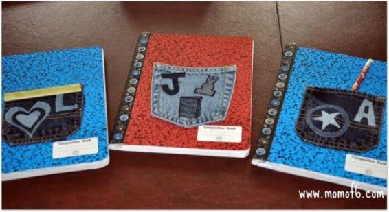 Momof6  Denim Pocket Notebooks1