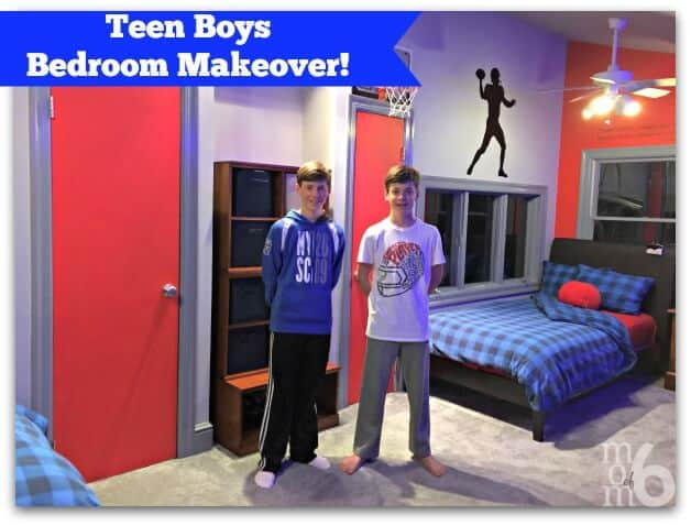 Teen Boys Bedroom Makeover
