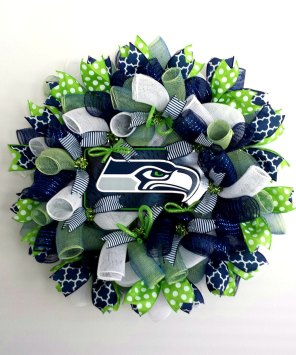 Seahawks wreath 1