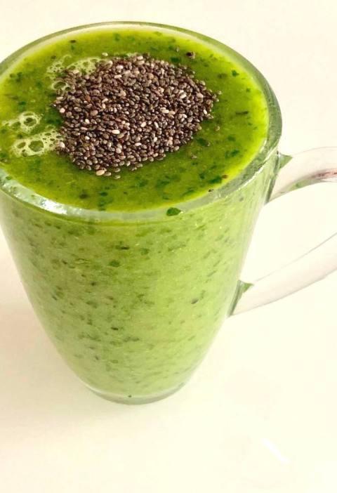 kiwi green smoothie