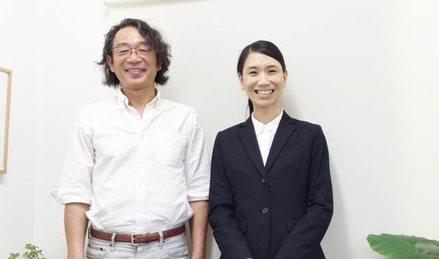 竹内代表と柴田カウンセラー