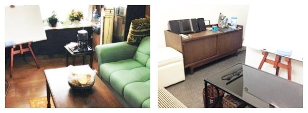 名古屋セッションルーム(左:3F、右:2F)