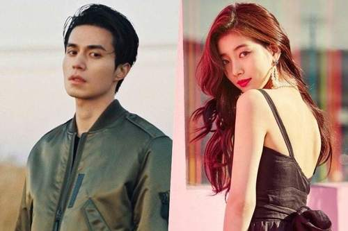 Image result for Lee Dong Wook နဲ႔ Suzy