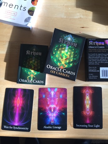 kryon oracle cards