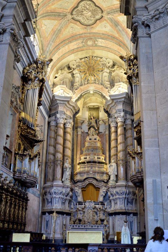ポルトの象徴クレリゴス教会-1