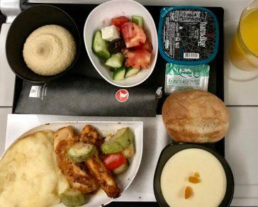 トルコ航空イスタンブール〜成田の機内食-2