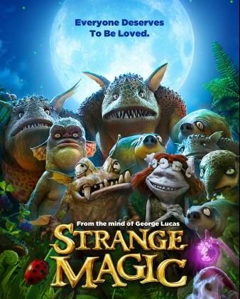 Review: STRANGE MAGIC ~ A Magical Animated Love Story #StrangeMagic