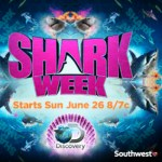 Southwest Airlines Invites You To Celebrate Shark Week With Your Family! #SharksTakeFlight