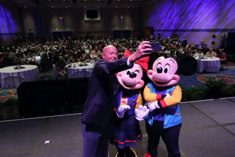 Bob Chapek - Chairman of Disney Parks - Photo courtesy of Disney Photographer Alex Maribal - Magic and Motivation -Disney Social Media Moms