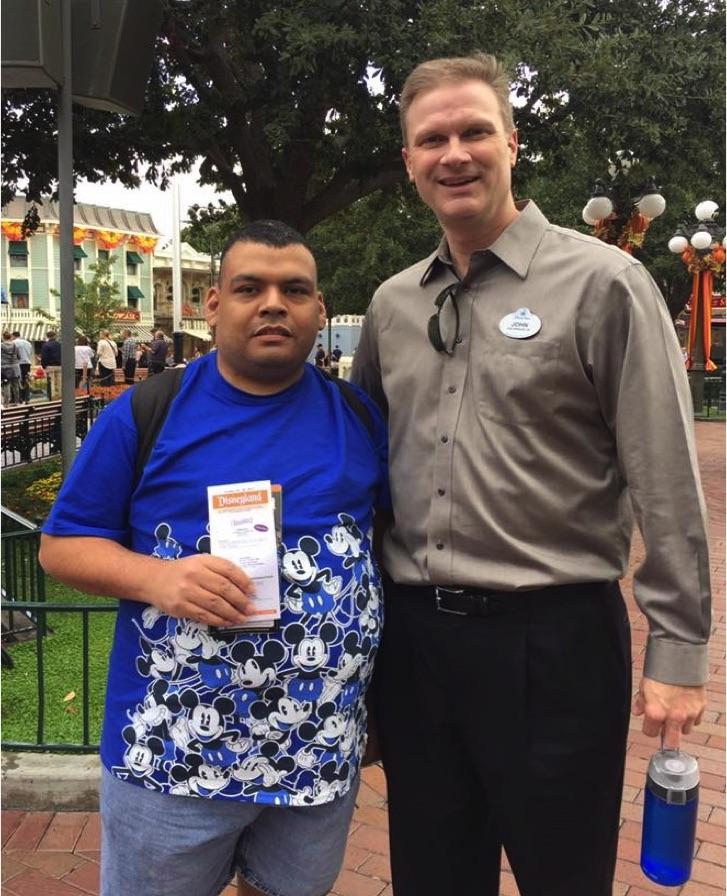 John Breckow, Director, Corporate Citizenship Walt Disney Parks & Resorts and Richie - Magic and Motivation - Disney Social Media Moms Conference