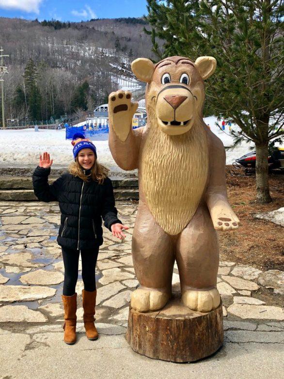 Calvin the Cougar - Okemo Mountain Resort