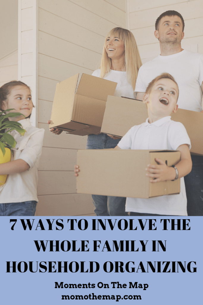 7 Ways to Involve the Whole Family in Household Organizing