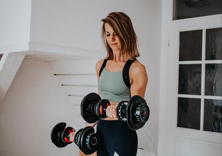 Bowflex dumbbells NRG Fitness