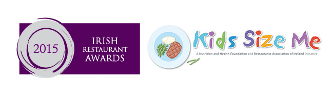 Irish Restaurant Awards, Best Kids Size menu awarded to Momo!