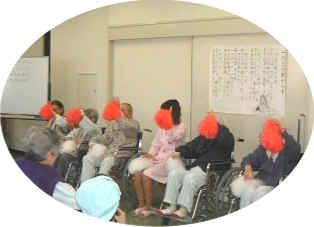 桃崎病院では、心身の健康保持や促進等のため、多様なレクリエーション活動を支援します。2月20日3階食堂にてせつぶんの会を催しました。