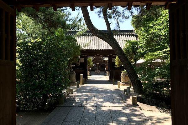 岡山市北区にある神社今村宮