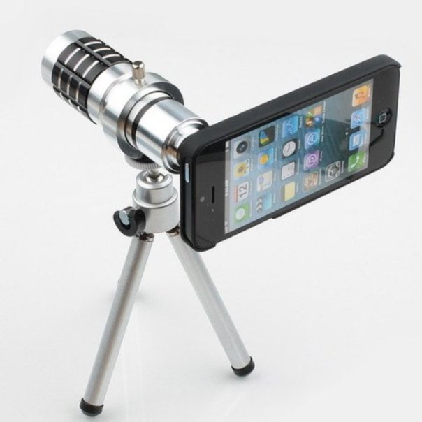 tripod with telephoto lens for iphone 5