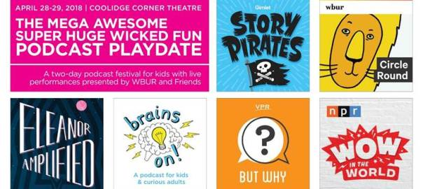First Ever Kids Podcast Festival Features WHYY's Eleanor Amplified, April 28-29