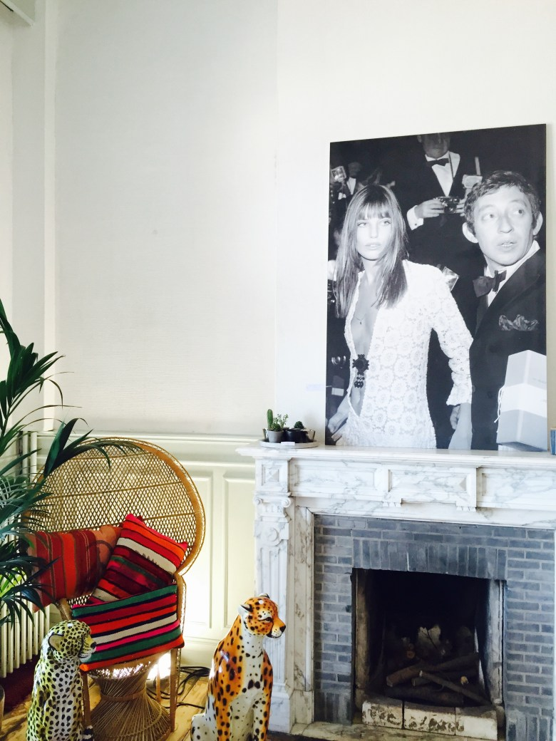 Villa Francine Pop-up store Oostende verslag Mom Runs The City, Gainsbourg, Jane Birkin