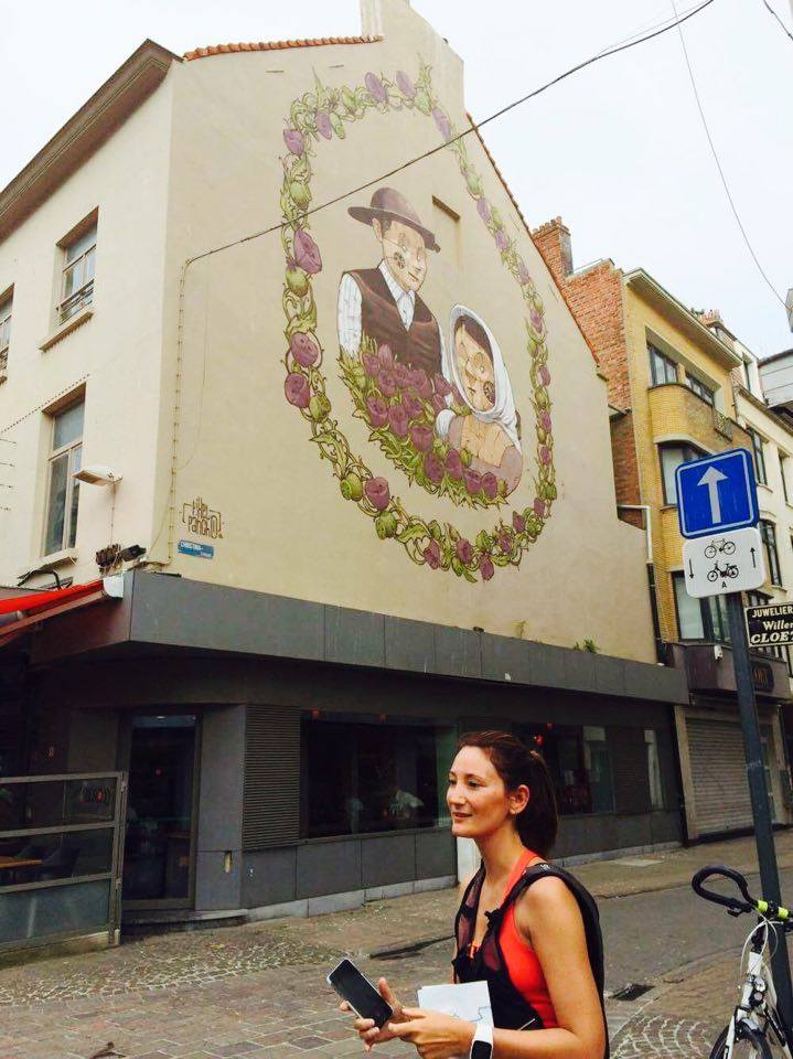 Mom Runs the City - Oostende - The Crystal Ship Run - Pixel Pancho