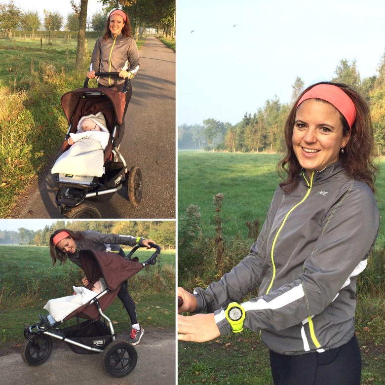 Moms Run The City in Jabbeke met Chloé Taffe
