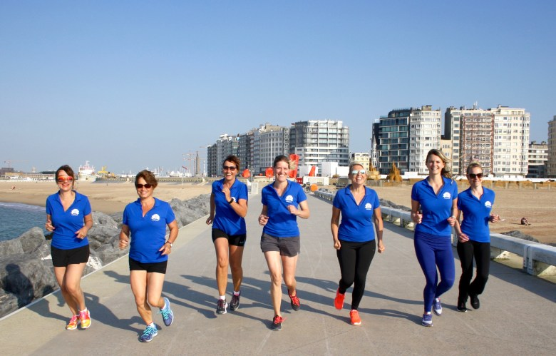 Ostend Night Run 2017 met de dames van Rotary Ter Streep Oostende