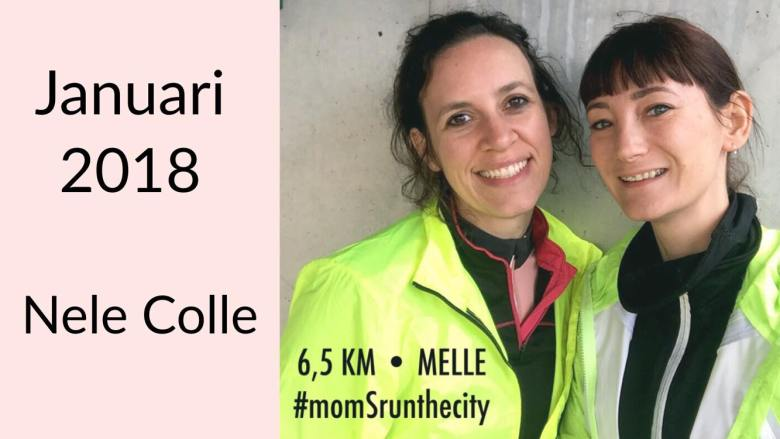 Moms Run The City lopen met Nele Colle in Melle