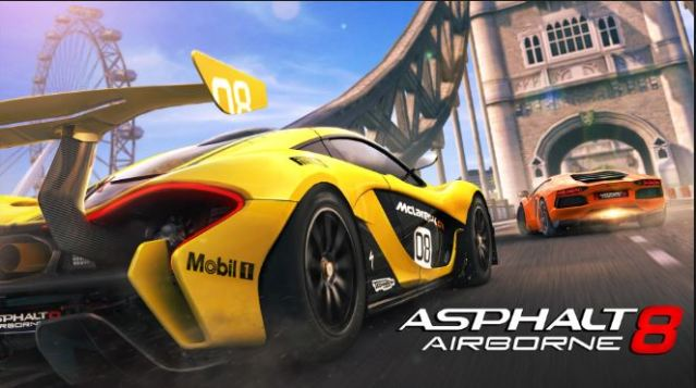 Asphalt 8 Airborne Hack