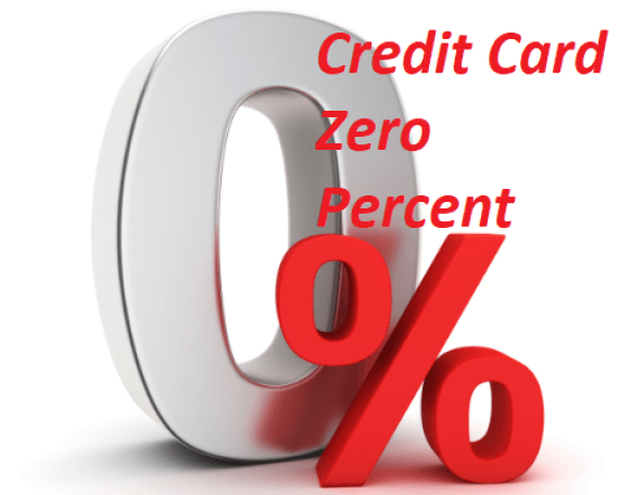 Credit Card Zero Percent