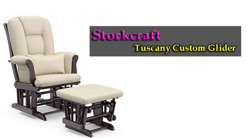 Stork Craft Tuscany Custom Glider