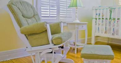 how to recover a glider rocker without sewing