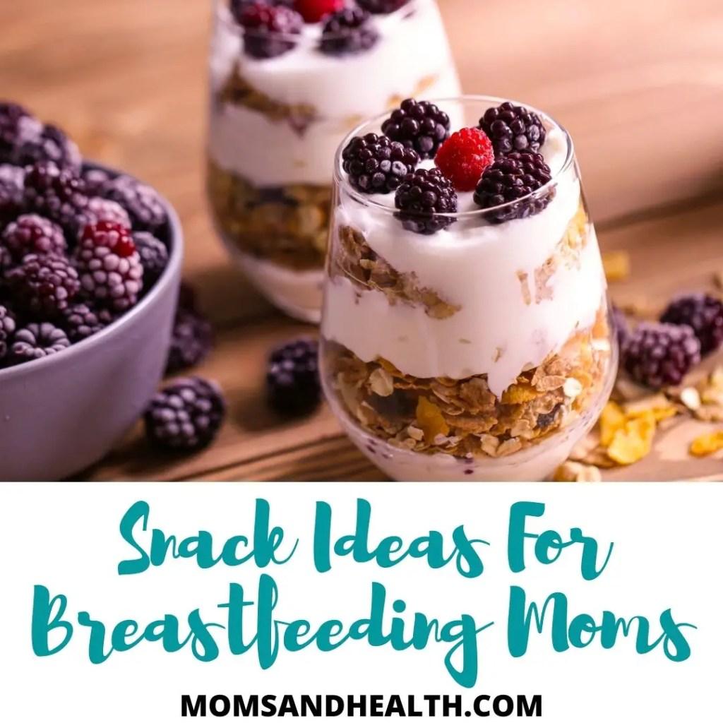 Snack Ideas For Breastfeeding Moms (1)