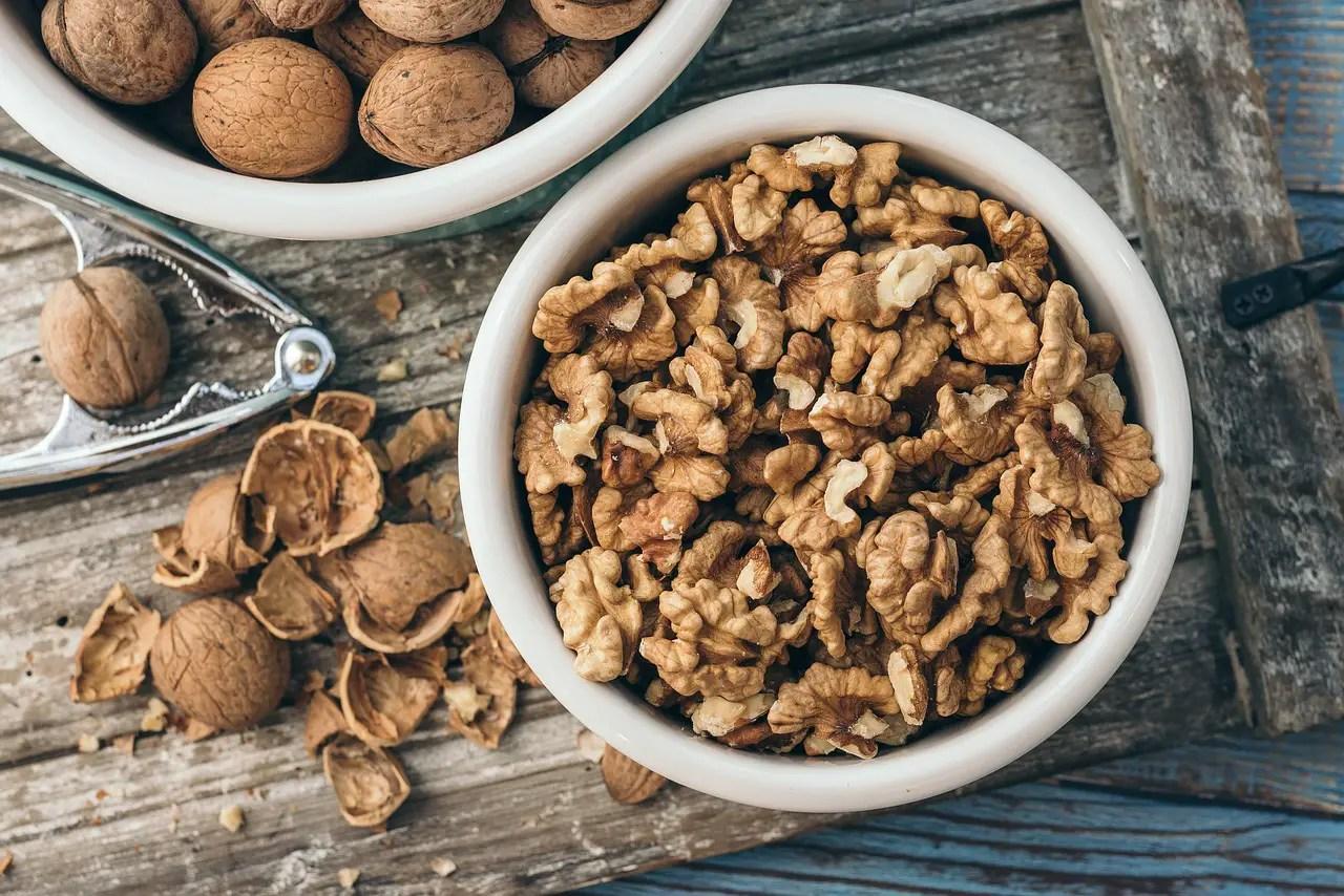 walnut, bowl, healthy