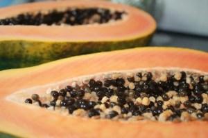 papaya, fruit, eat to increase Breast